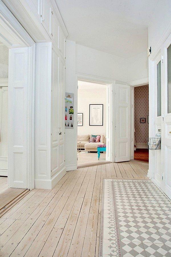 Couloir Carreaux De Ciment Perfect Carrelage Terrasse Et Tapis - Carrelage cuisine et tapis berbere
