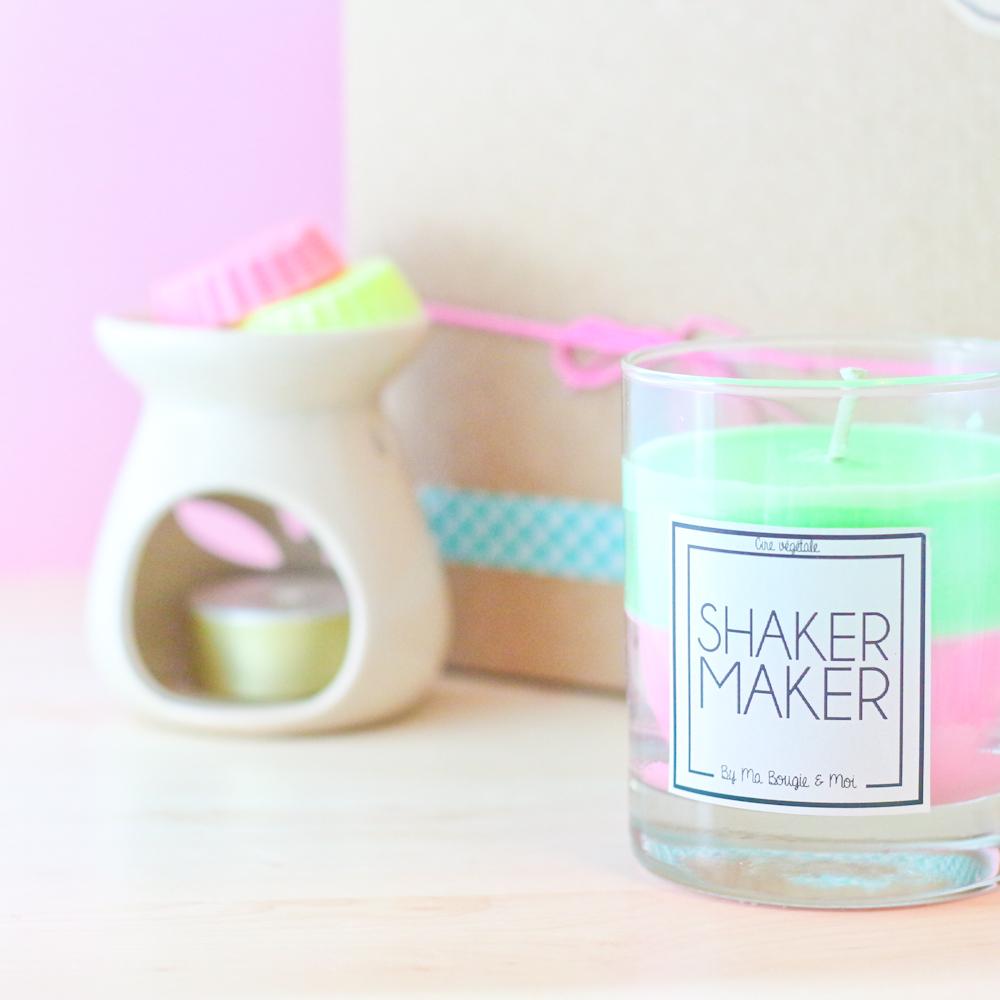 Ma bougie et moi une bougie sur mesure shakermaker - Ma bougie et moi ...