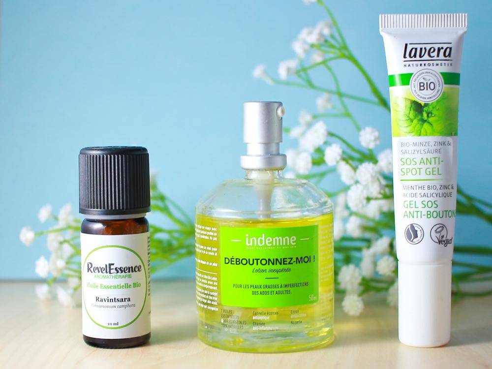 soins anti acné