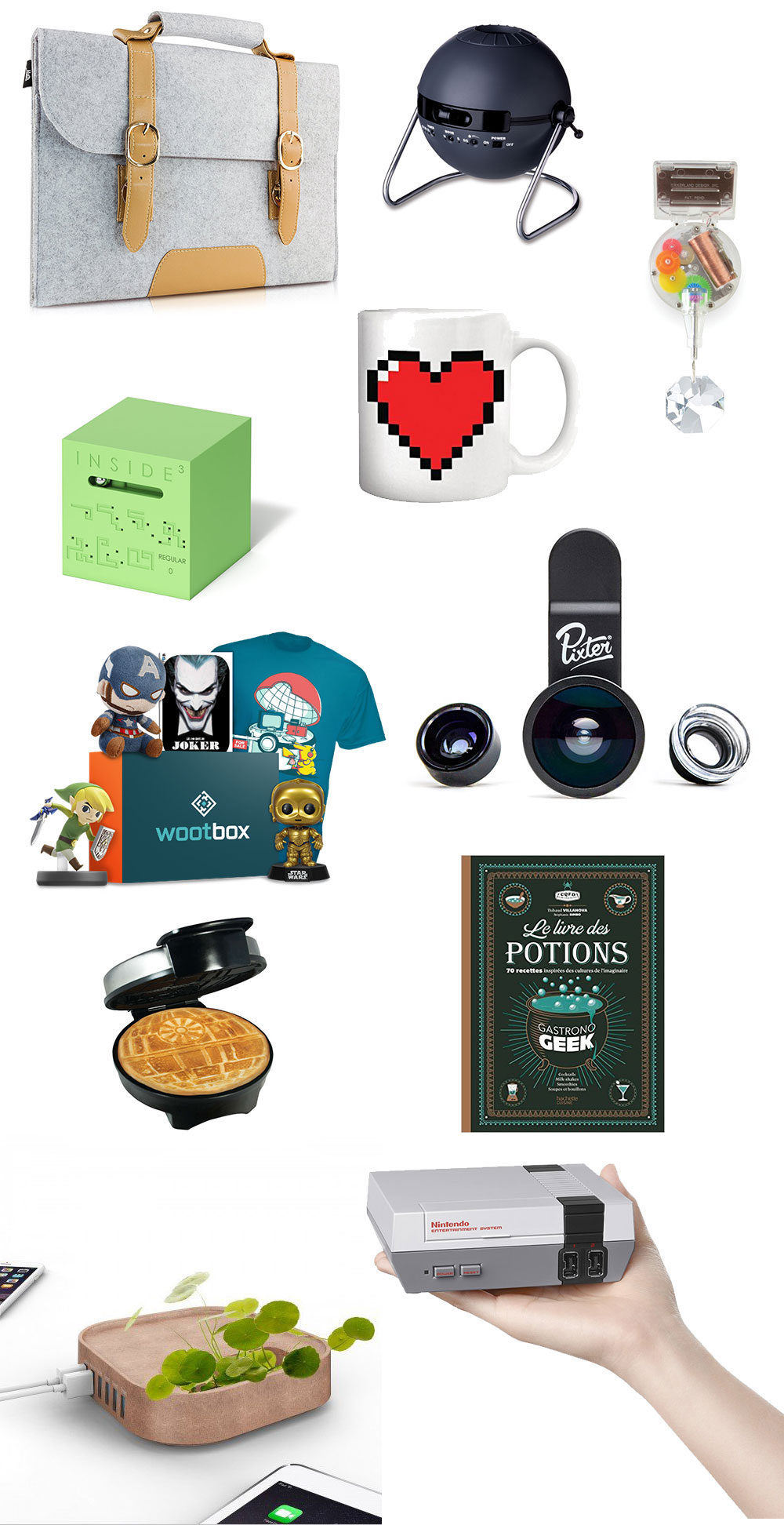 10 Idées Cadeaux pour un Noël : Geek ! – ShakerMaker