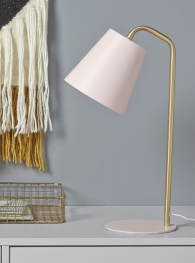 Lampe de chevet Rose - Gold - Cyrillus
