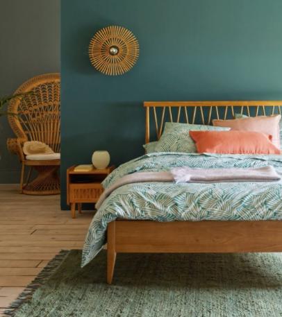 Mon lit en bois