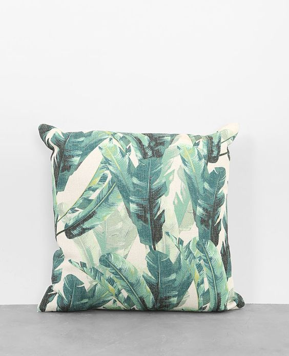 Coussin Feuilles Pimkie