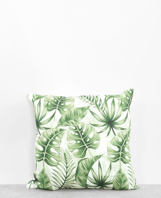 Coussin Monstera Pimkie