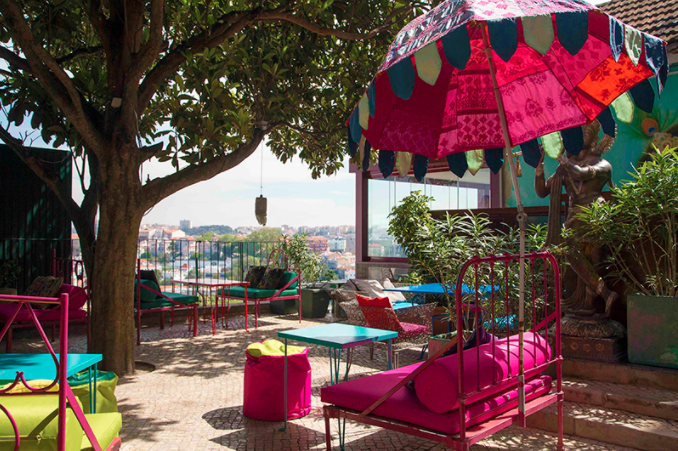 Meilleures adresse à Lisbonne - Lost In Espanada Roof Top