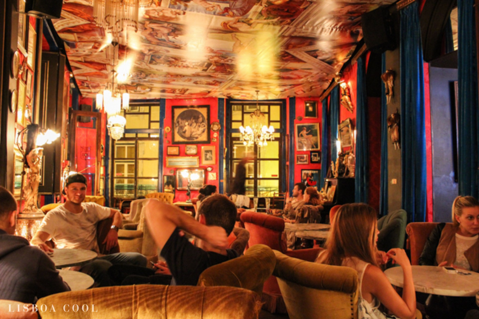 Meilleures adresse à Lisbonne - Bar Pensao Amor Lisbonne