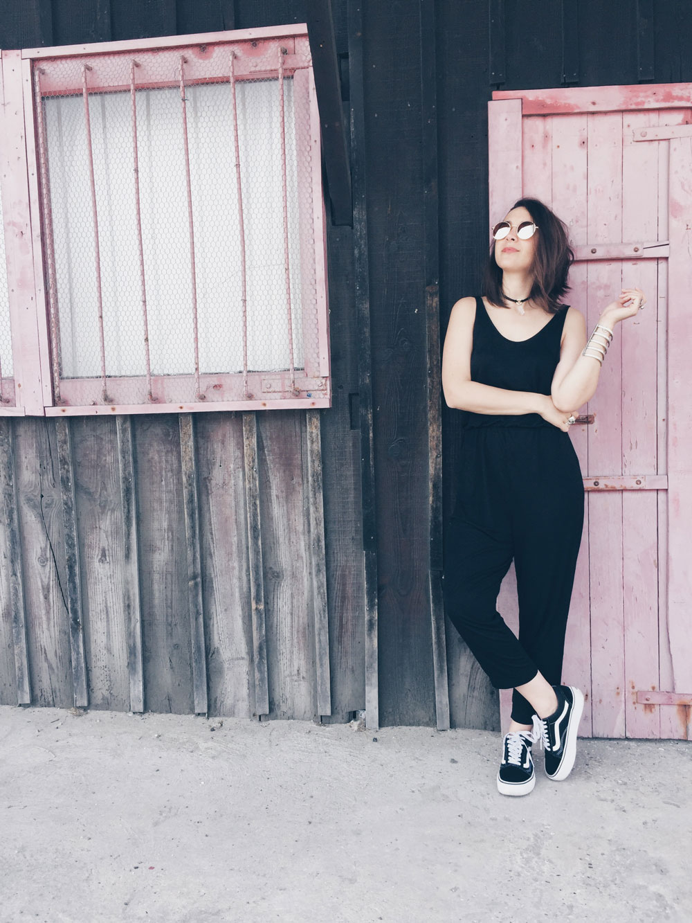 Mode Combinaison Noire Bijoux