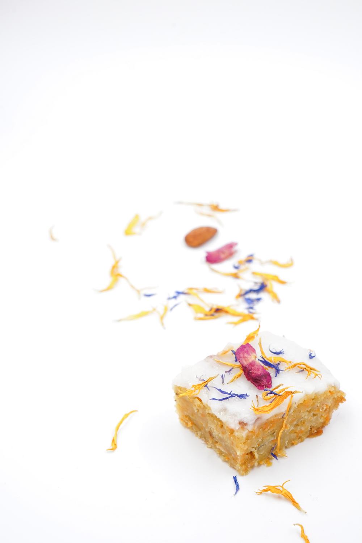 Carotte Cake Vegan Recette Fleurs