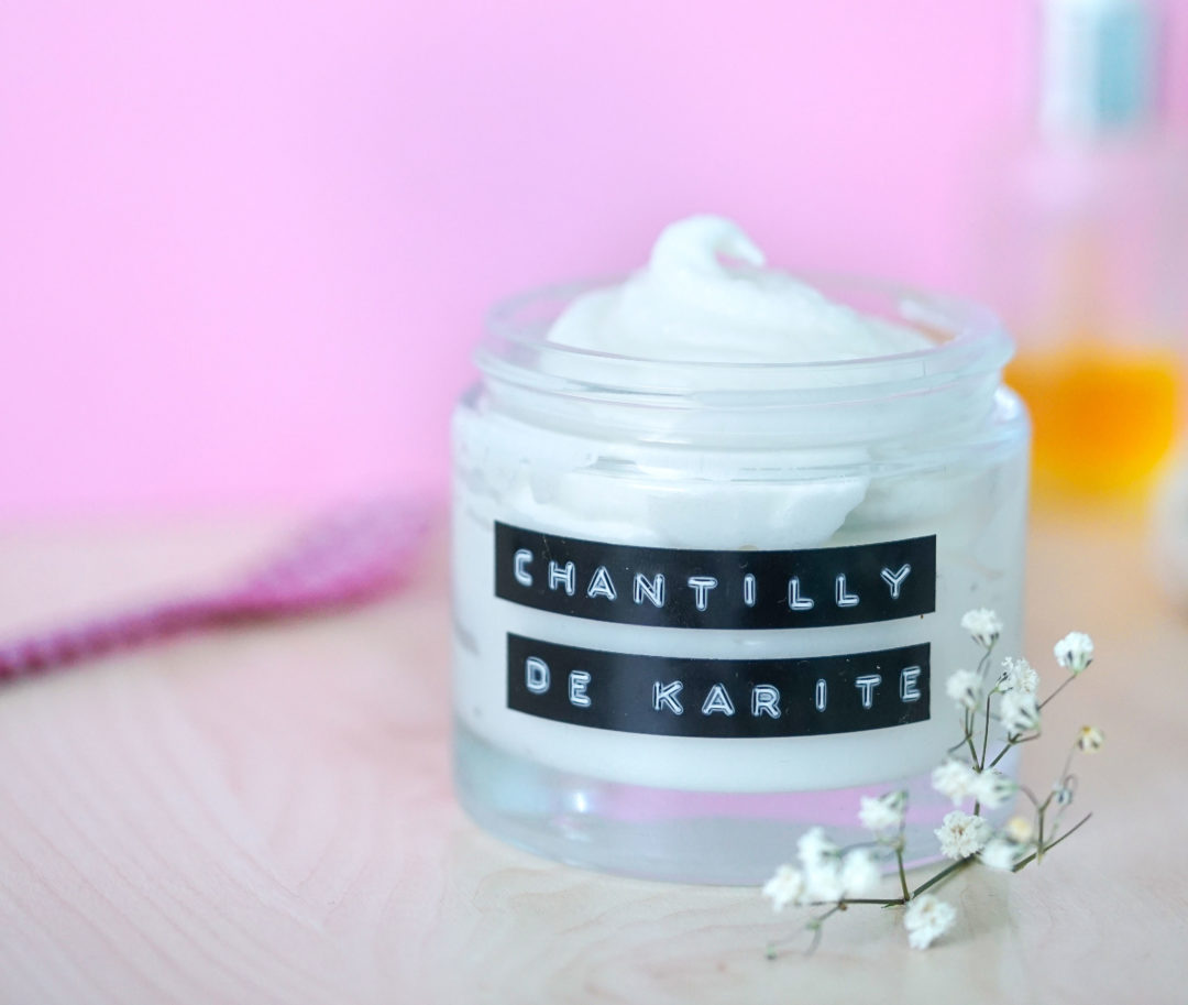 chantilly karite diy biocoop
