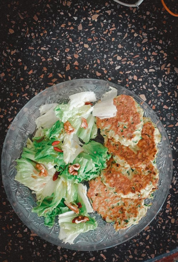 pancake courgette recette vegetarienne facile