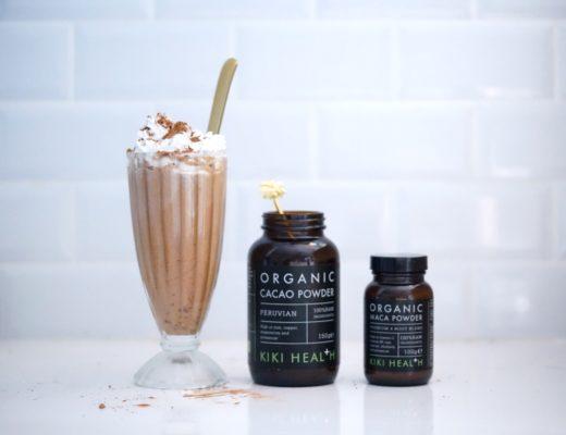 chocolat chaud vegan maca