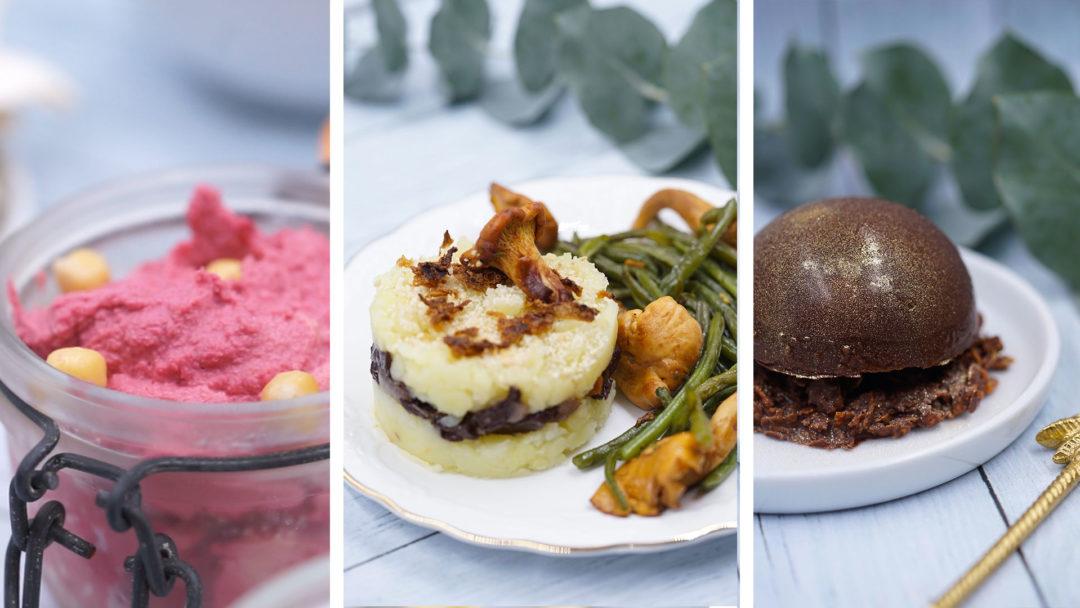 menu vegan fete noel